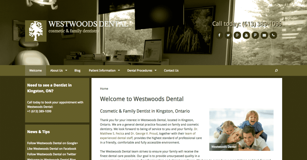 website-genius-westwoods-dental